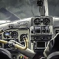 Old Cockpit by Barb Hauxwell