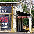 Old Corner Bar - Dayton - Nevada by John Waclo