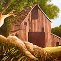 Old Country Barn by Janis  Tafoya