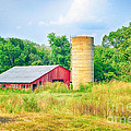 Old Country Farm And Barn by Peggy Franz