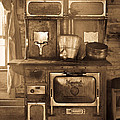 Old Country Stove by Athena Mckinzie