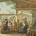 Old Covent Garden Market by George the Elder Scharf