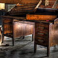 Old Desk In The Attic by Diego Re