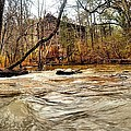 Old Dial Mill On The Rushing Waters Of Big Haynes Creek by James Potts