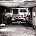 Old Dodge Car In Garage by Steve G Bisig