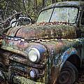 Old Dodge Truck by Debra and Dave Vanderlaan