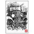 Old Dodge Truck V by Ken Evans