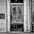 Old Door - Bw by Christopher Holmes