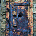 Old Door At Abandoned Prison by Jill Battaglia