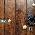 Old Door by Chevy Fleet