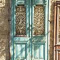 Old Door In Jersusalem Israel by Jacek Malipan