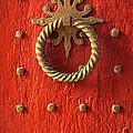 Old Door Knocker by Jill Battaglia