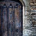 Old Door With Spider Webs by Jill Battaglia