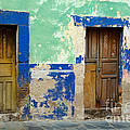 Old Doors, Mexico by John Shaw