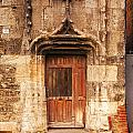 Old Doorway Cahors France by Colin and Linda McKie