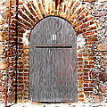 Old Doorway Of Pidgeon Island Fort by Duane McCullough