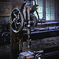 Old Drill Press by Dave Mills