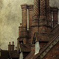 Old English House With Cat by Ethiriel  Photography