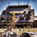 Old Faithful Inn Yellowstone  by Cathy Anderson