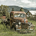 Old Faithful Truck by Terry Rowe