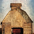 Old Farm Building by Cassie Peters