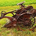 Old Farm Equipment Hardin Montana by Jeff Swan