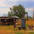 Old Farm Equipment by John Malone
