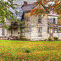 Old Farm House by Harold Rau