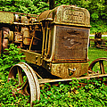 Old Farm Tractor by Sebastian Musial