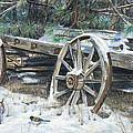 Old Farm Wagon by Nick Payne