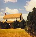 Old Farmhouse Landscape by Robert Floyd