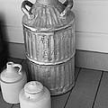 Old Fashion Milk Jug by David Millenheft
