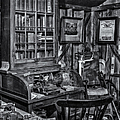 Old Fashioned Doctor's Office Bw by Susan Candelario