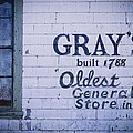 Old Fashioned General Store Abandoned by Amanda Devitt