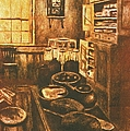 Old Fashioned Kitchen Again by Kendall Kessler