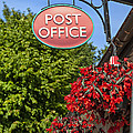 Old Fashioned Post Office Sign by Sophie McAulay