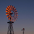 Old Fashioned Wind Mill by Don Spenner