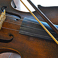 Old Fiddle And Bow Still Life 2 by Bill Owen