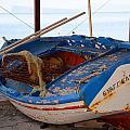 Old Fishing Boat by Brenda Kean