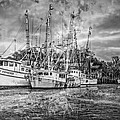 Old Fishing Boats by Debra and Dave Vanderlaan