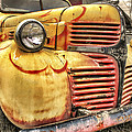 Old Flames - Antique Dodge Truck by Jason Politte