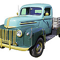 Old Flat Bed Ford Work Truck by Keith Webber Jr