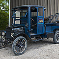 Old Ford Wrecker  by Paul Cannon