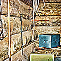 Old Fort Interior Room by Judy Hall-Folde