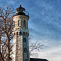 Old Fort Niagara Lighthouse 4478 by Guy Whiteley