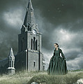 Old Freanch Church With Maiden by Ethiriel  Photography