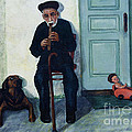 Old Friends And A Flute by DiDi Higginbotham