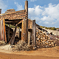 Old Garage  by Fran Riley