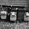 Old Gas Meters by James Brunker