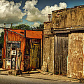 Old Gas Station by Mal Bray